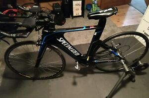 Specialized Shiv Comp Triathlon Road Bike Blue/Black Frame Size Small - 2500.00,Vraagprijs 2500,datum 25-1-2020 07:27:47,bron ebay.com